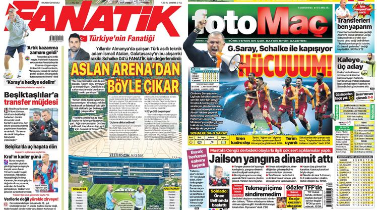 6 Kasım gazete manşetleri