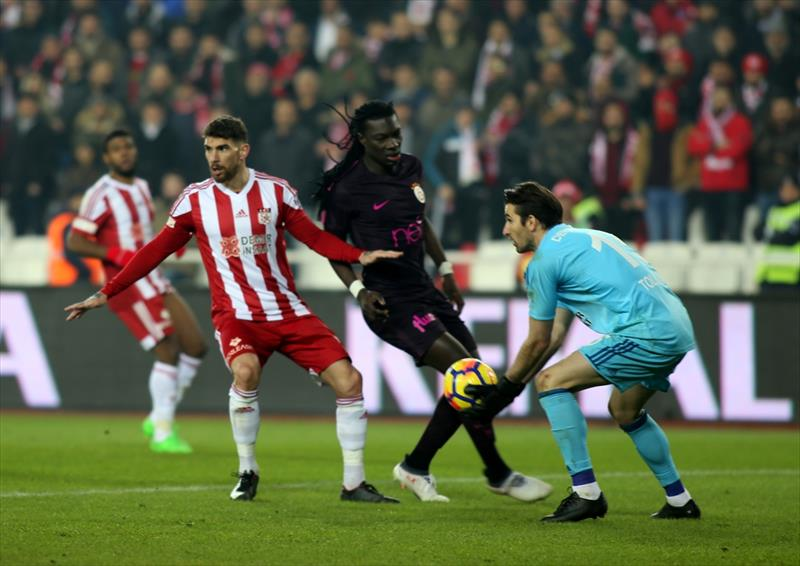 DG Sivasspor - Galatasaray maçının galerisi