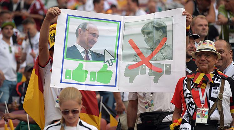 Almanya - Meksika maçından kareler