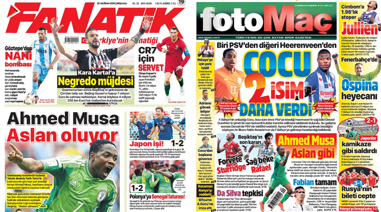 20 Haziran gazete manşetleri