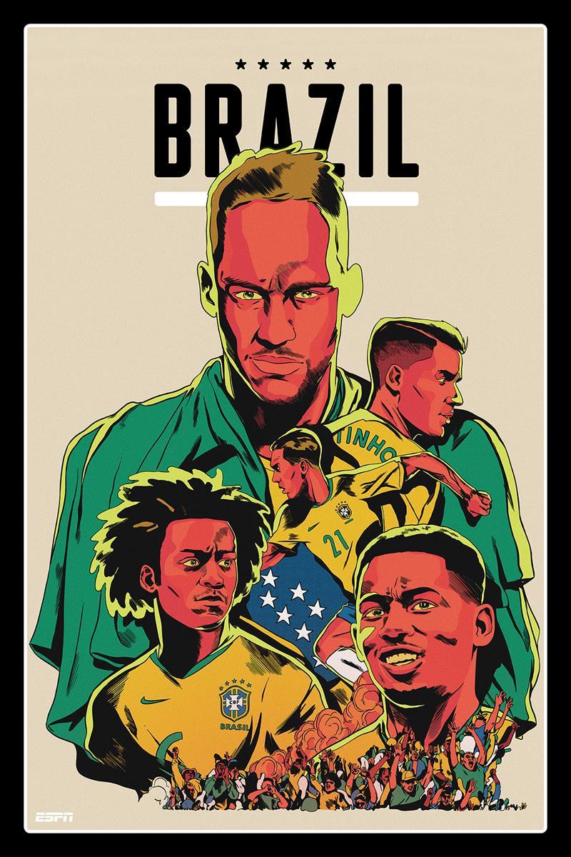 Dünya Kupası posterleri!