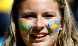 İsveç - İsviçre maçından kareler