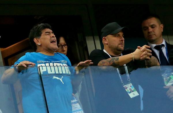 Maradona Arjantin için bunu yapmaya hazır