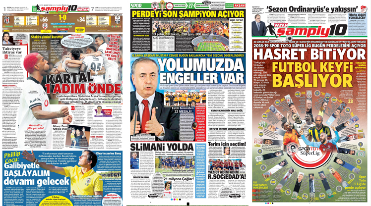 10 Ağustos gazete manşetleri