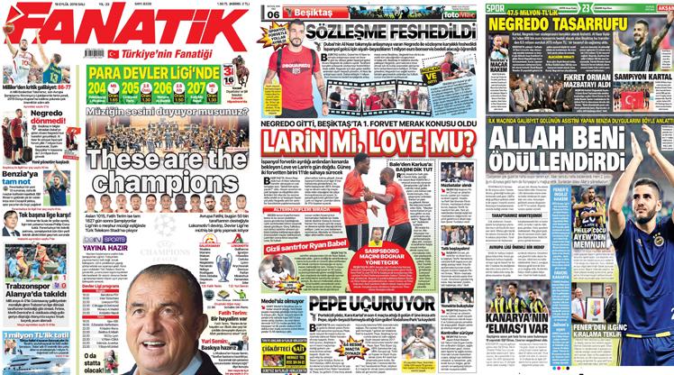 18 Eylül gazete manşetleri