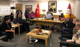Galatasaray'dan gece yarısı 'toplantı' paylaşımı