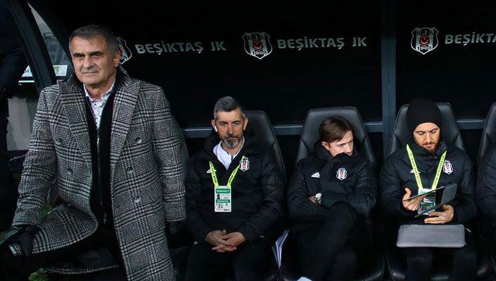Beşiktaş'ta gözler Şenol Güneş'te