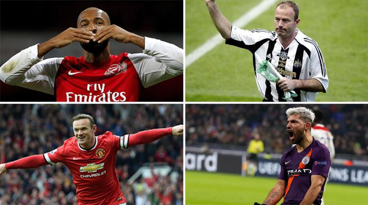 İşte Premier Lig tarihinin en golcü 10 ismi!