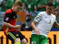 Belçika İrlanda Cumhuriyeti maç özeti
