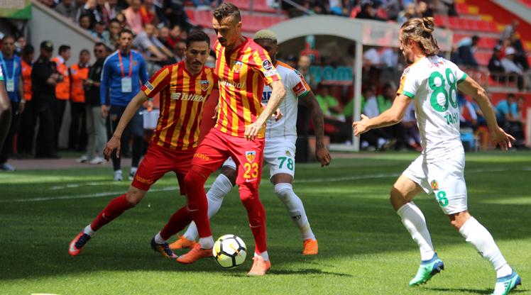 Kayserispor Alanyaspor maç özeti