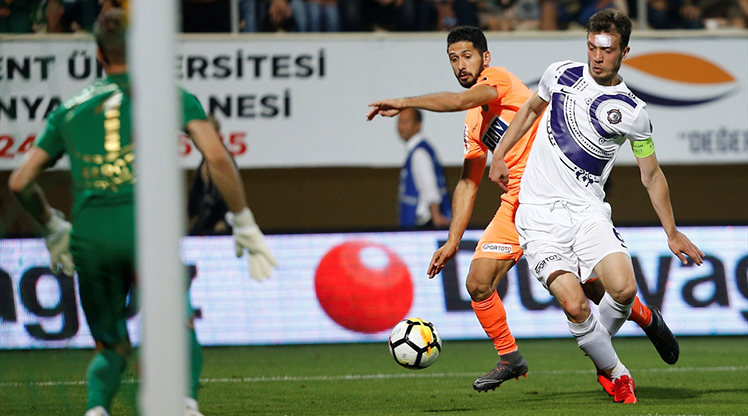 Aytemiz Alanyaspor Osmanlıspor FK maç özeti