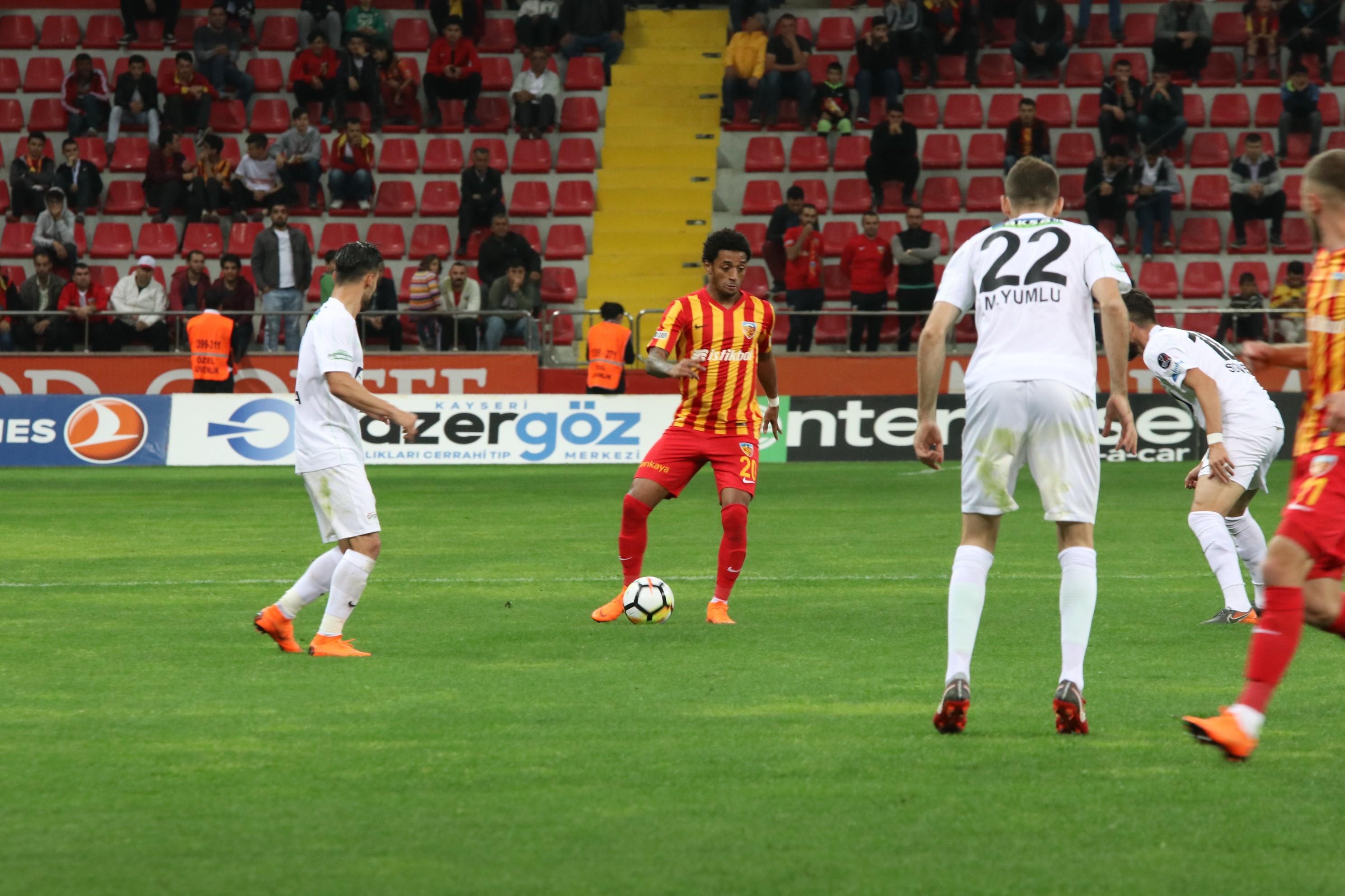 Kayserispor Akhisarspor maç özeti