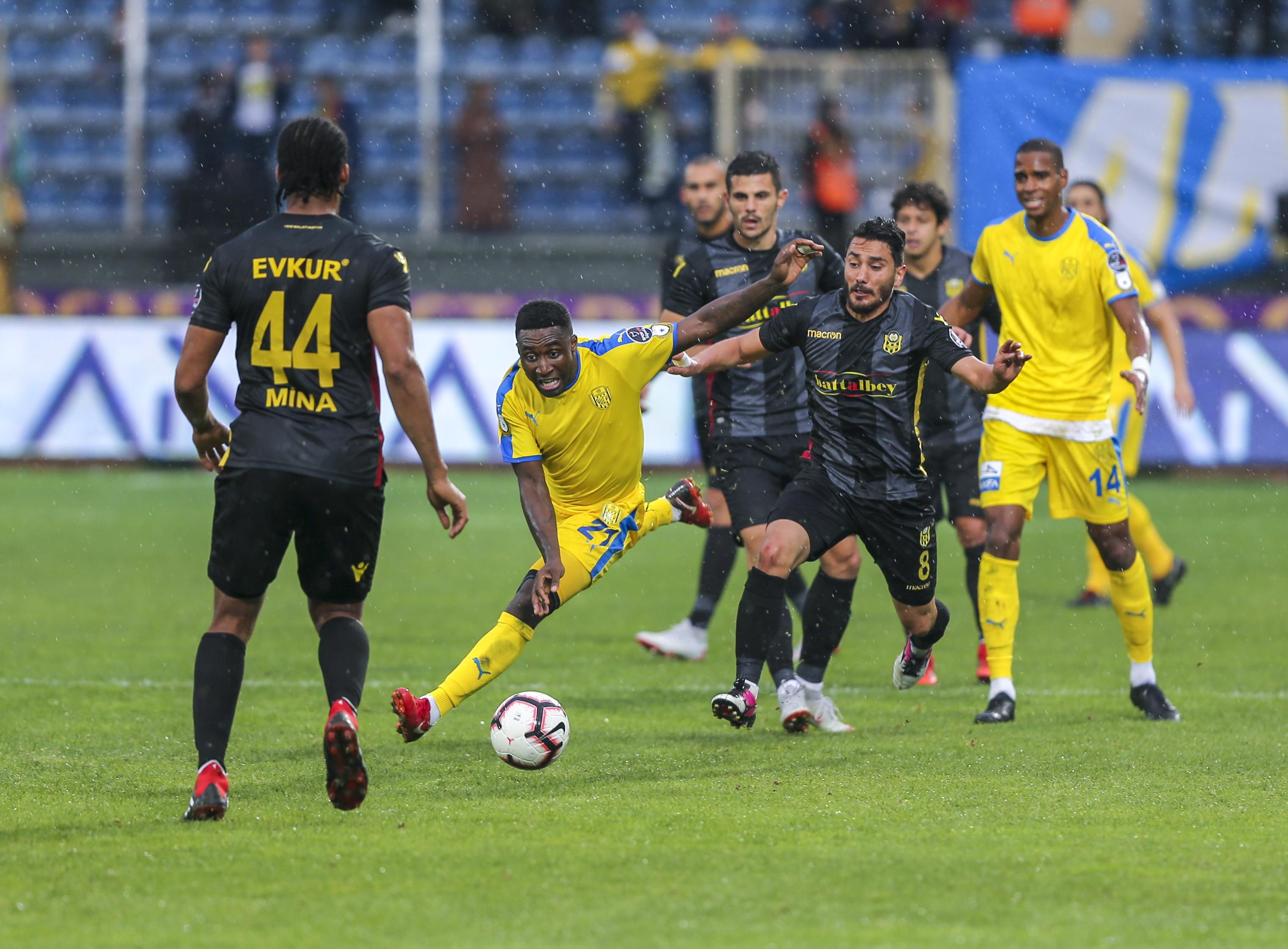 MKE Ankaragücü Evkur Yeni Malatyaspor maç özeti