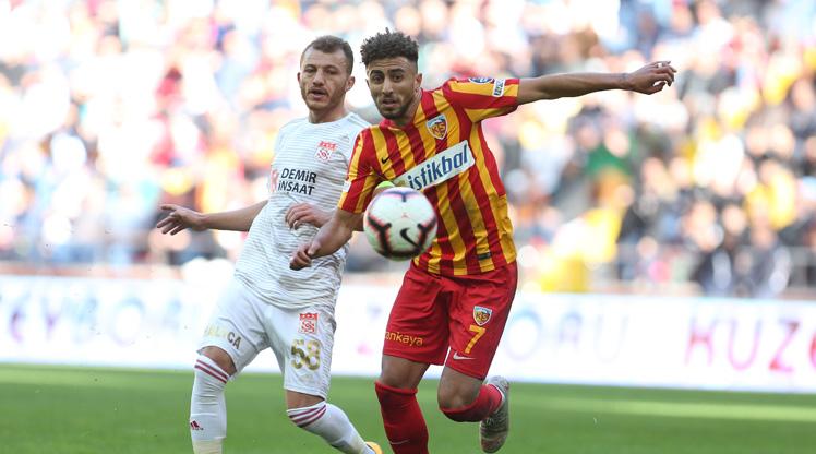 Kayserispor Demir Grup Sivasspor maç özeti