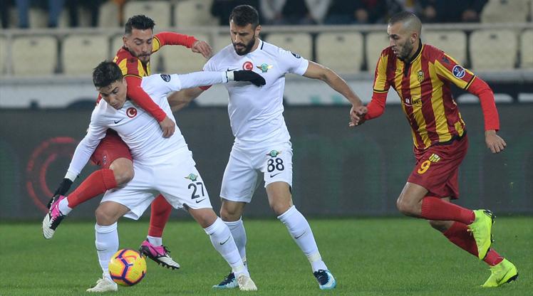 Evkur Yeni Malatyaspor Akhisarspor maç özeti