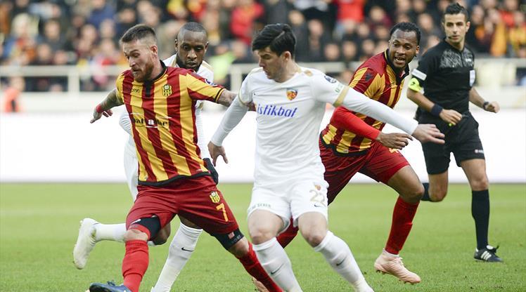 Evkur Yeni Malatyaspor İstikbal Mobilya Kayserispor maç özeti