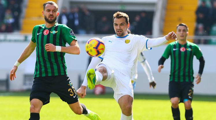 Akhisarspor MKE Ankaragücü maç özeti