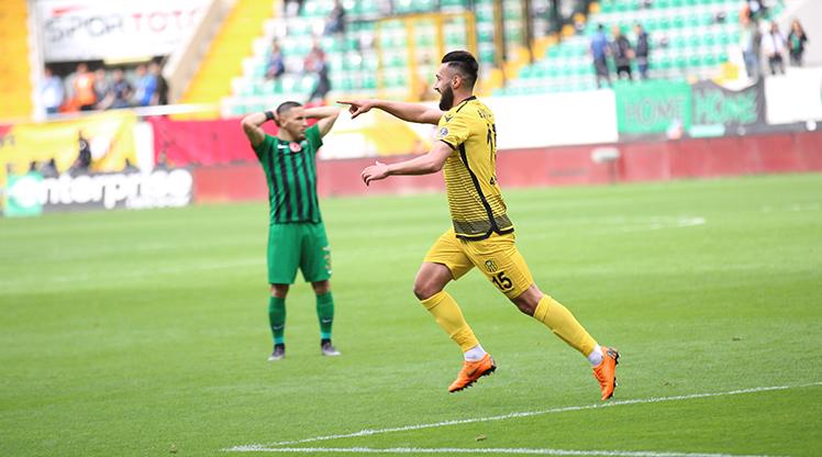 Akhisarspor Evkur Yeni Malatyaspor maç özeti