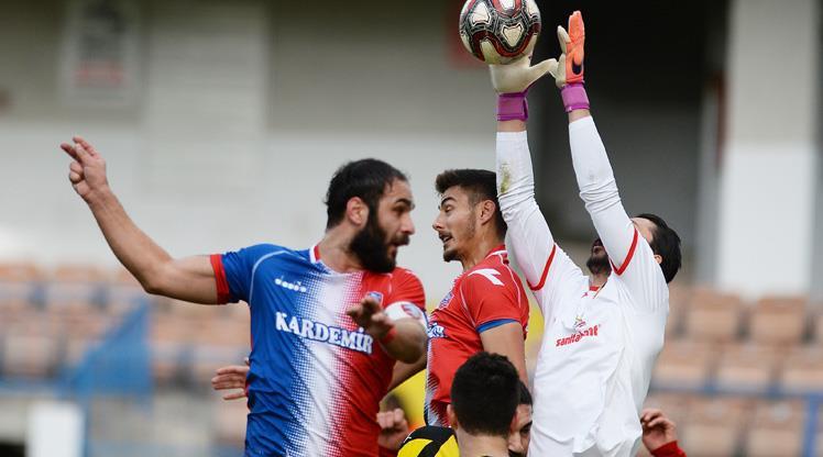 Kardemir Karabükspor İstanbulspor maç özeti