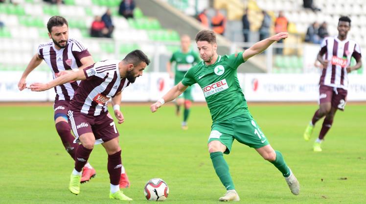 Giresunspor Hatayspor maç özeti