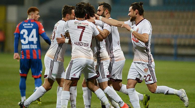 Kardemir Karabükspor Hatayspor maç özeti