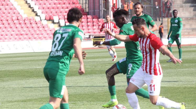 Balıkesirspor Baltok Giresunspor maç özeti