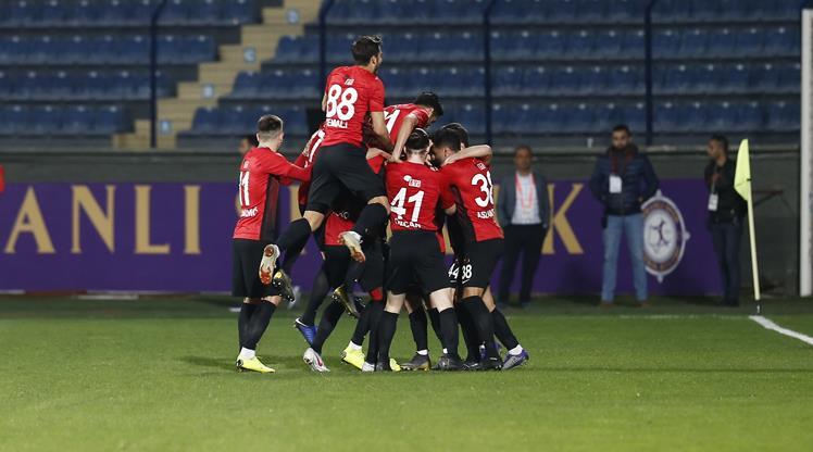 Osmanlıspor FK Eskişehirspor maç özeti