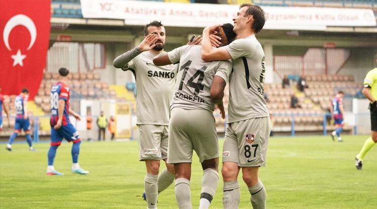 Kardemir Karabükspor Gaziantep FK maç özeti