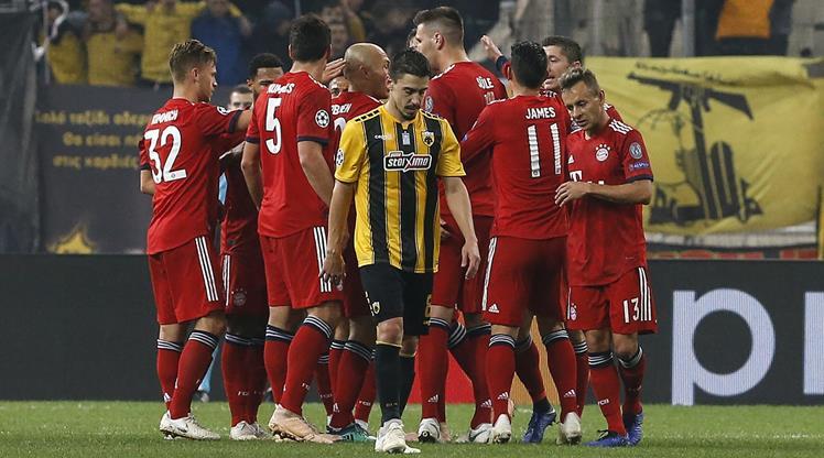 AEK Bayern Münih maç özeti