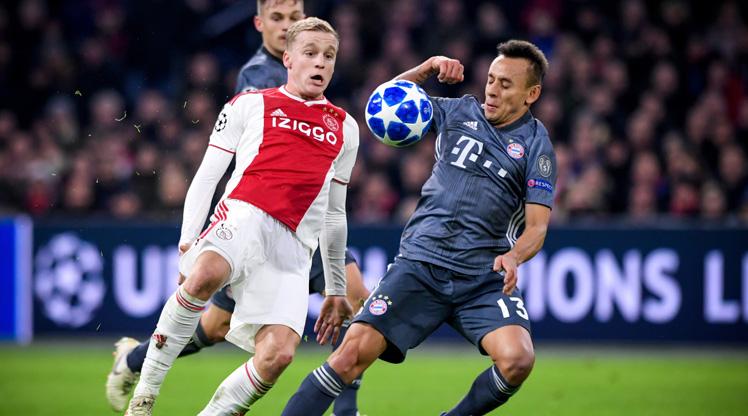 Ajax Bayern Münih maç özeti