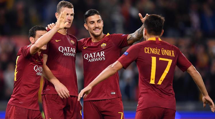 Roma CSKA Moskova maç özeti