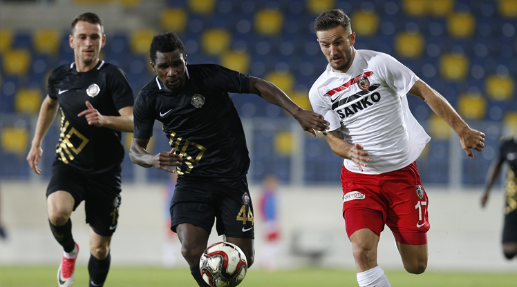 Osmanlıspor FK Gazişehir Gaziantep FK maç özeti