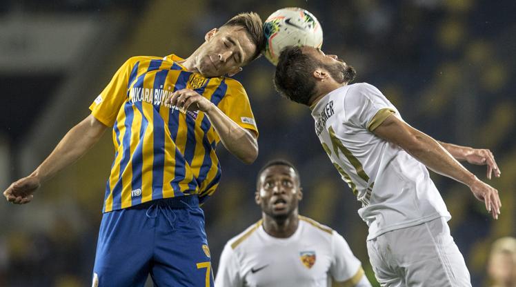 MKE Ankaragücü İstikbal Mobilya Kayserispor maç özeti