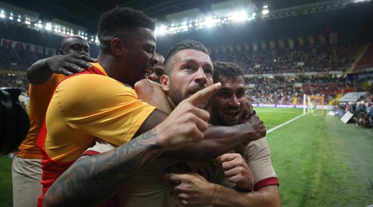İstikbal Mobilya Kayserispor Galatasaray maç özeti