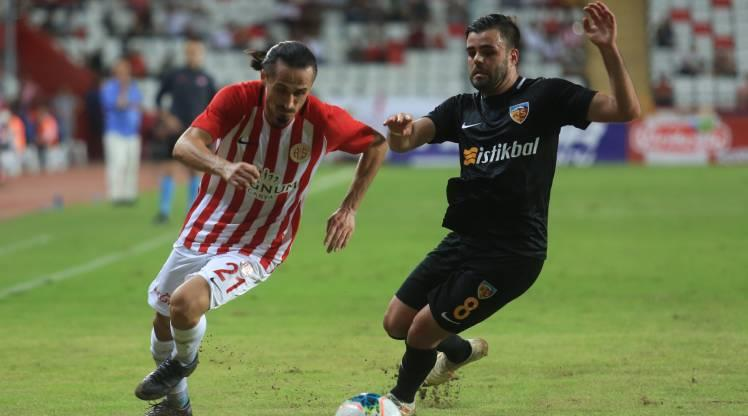Antalyaspor İstikbal Mobilya Kayserispor maç özeti