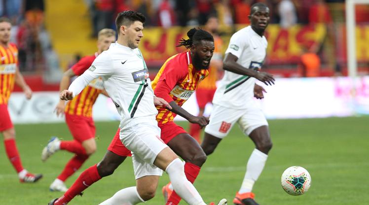 İstikbal Mobilya Kayserispor Yukatel Denizlispor maç özeti