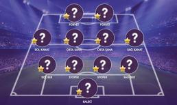 İşte OPTA verilerine göre Süper Lig'de 13. haftanın en iyi 11'i