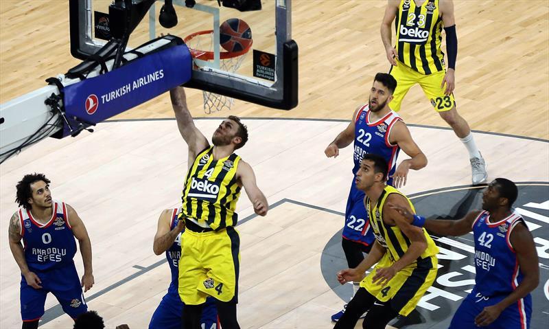 Fenerbahçe Beko - Anadolu Efes foto galerisi