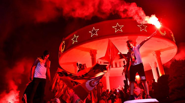 Türkiye'nin dört bir yanında şampiyonluk coşkusu