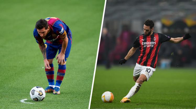 Avrupa'nın 5 büyük liginde en çok frikik golü atan oyuncular...