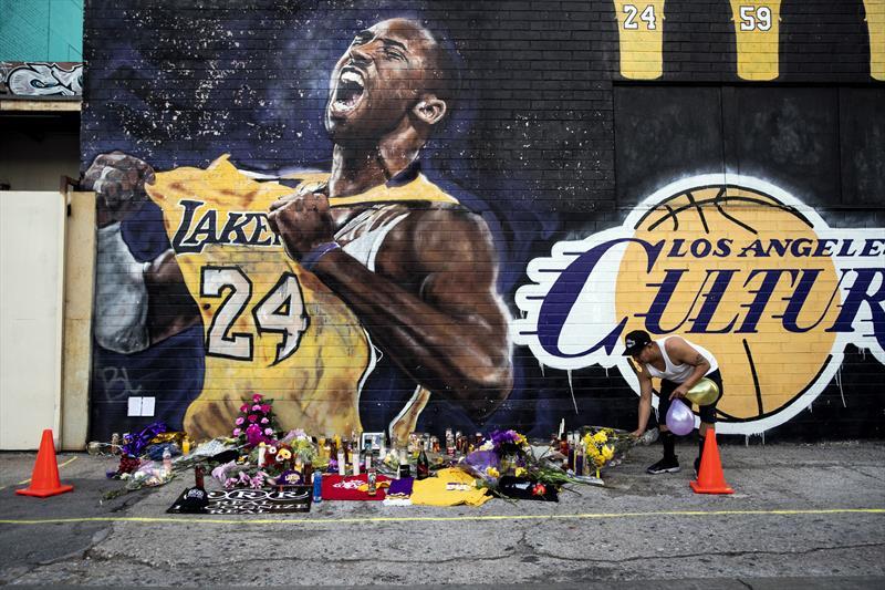 Kobe Bryant'ı böyle andılar