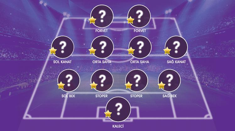 OPTA verilerine göre Süper Lig Cemil Usta Sezonu'nda geride kalan 26 haftanın en iyi 11'i şu şekilde oluştu.