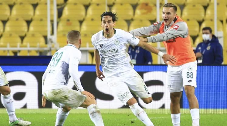 Fenerbahçe İttifak Holding Konyaspor golleri