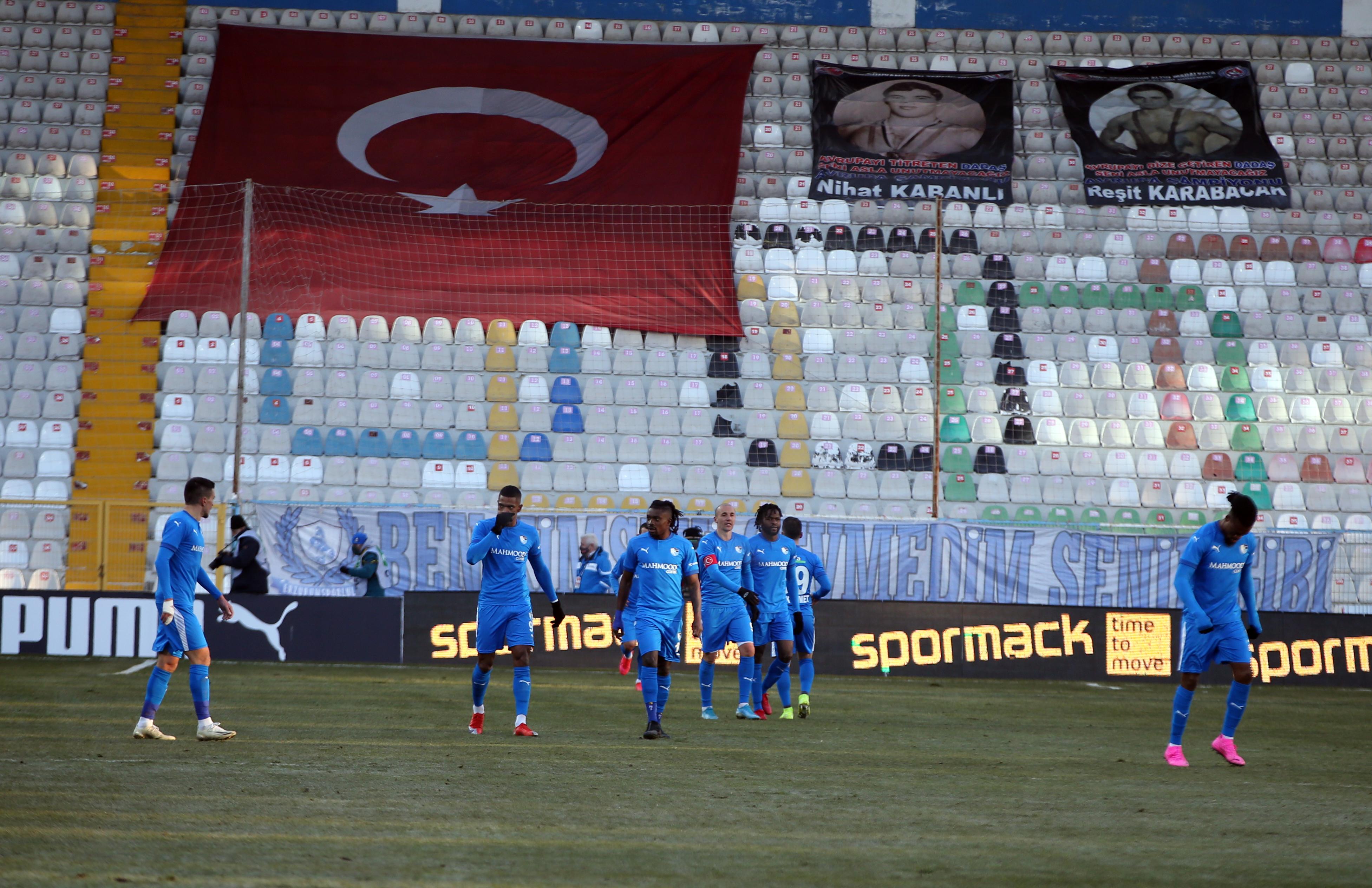 BB Erzurumspor - Aytemiz Alanyaspor