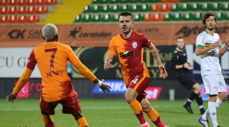 Aytemiz Alanyaspor Galatasaray golleri