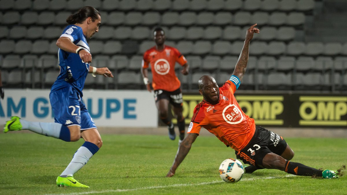 Bastia Lorient maç özeti