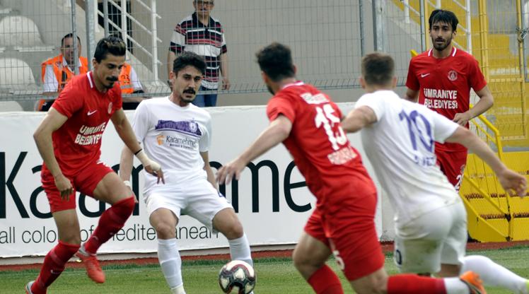 Afjet Afyonspor Cesar Grup Ümraniyespor maç özeti