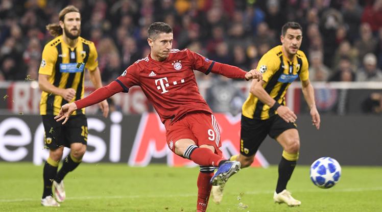 Bayern Münih AEK maç özeti
