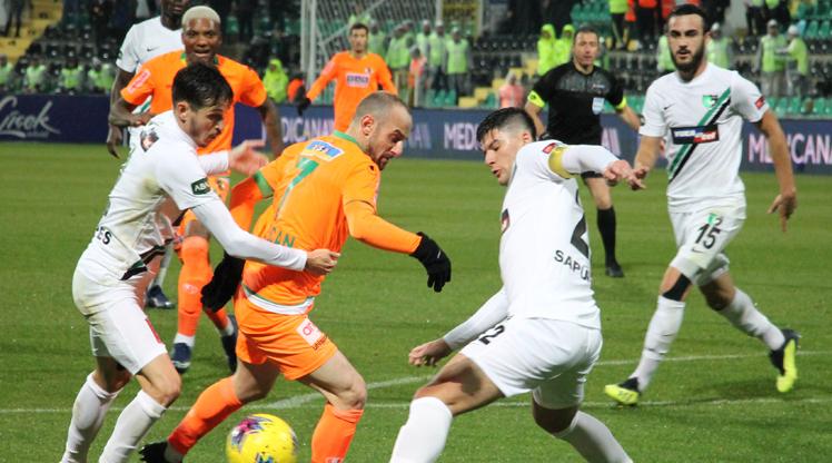 Yukatel Denizlispor Aytemiz Alanyaspor maç özeti