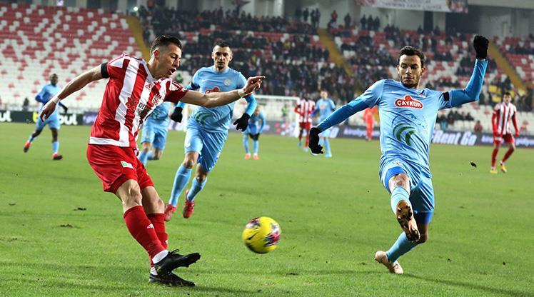 Demir Grup Sivasspor Çaykur Rizespor maç özeti